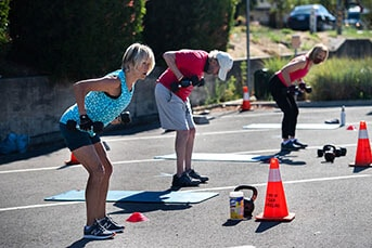 Stamina Fitness Training is a Gym in San Anselmo, Marin offering Zoom workouts, outside workouts, functional fitness training & cross training.